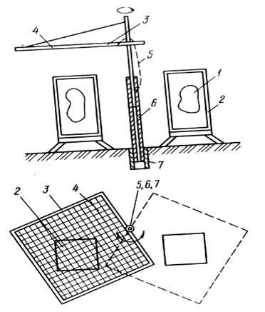 переносной зонд для электрической тени